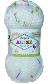 Sekerim Bebe Mini Colors fonal 10 dkg